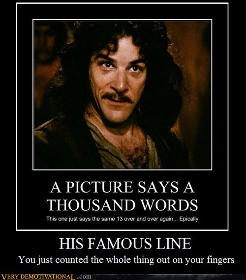 Even Mandy Patinkin did...