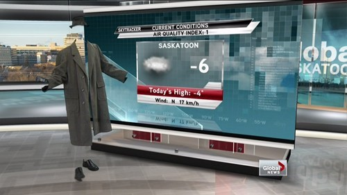 costume green screen news weather weatherman invisible g rated win Hall of Fame best of week