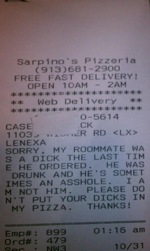 monday thru friday pizza work request food - 6727725056