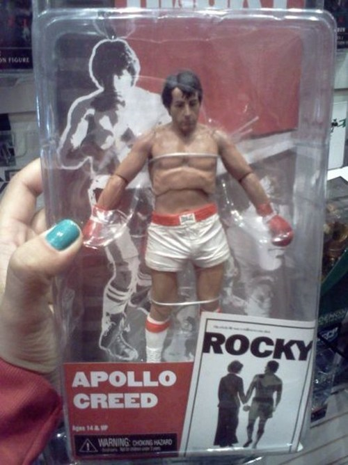 toy whoops boxing rocky action figure - 6727761152
