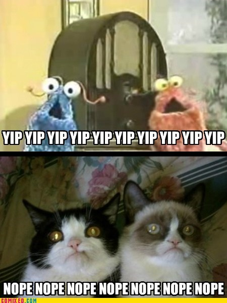 muppets,yip yip aliens,nope,martians