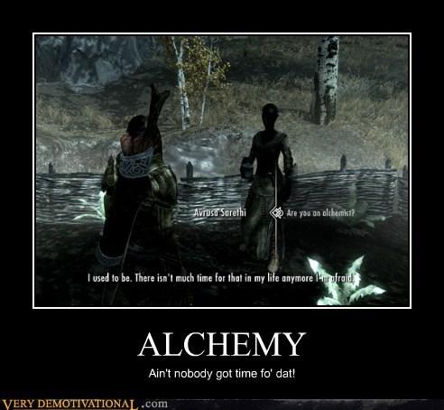 time for dat Skyrim alchemy - 6728039424