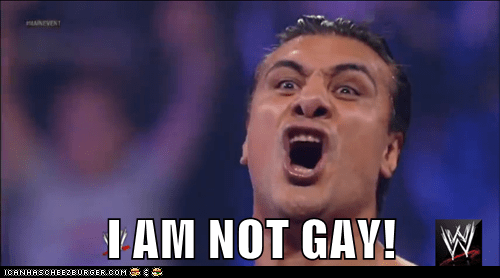 I AM NOT GAY!