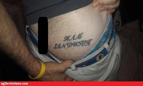 ham sandwich butt tattoos - 6728645120
