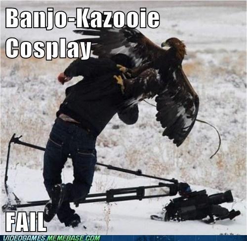 cosplay FAIL banjo kazooie - 6729080320