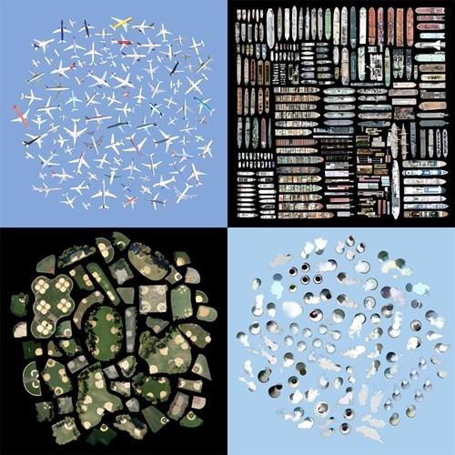 art google earth satellite scrapbooking - 6729119488