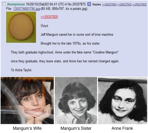 Neutral Milk Hotel Music Conspiracy Theory anne frank - 6729216256