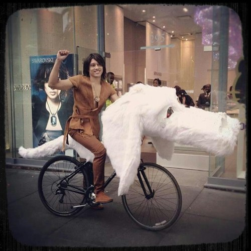 halloween costumes bicycle The Never Ending Story - 6729247488