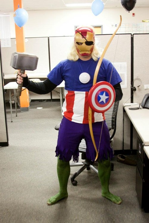 costume Thor touch hawkeye iron man captain america hulk avengers - 6729320704