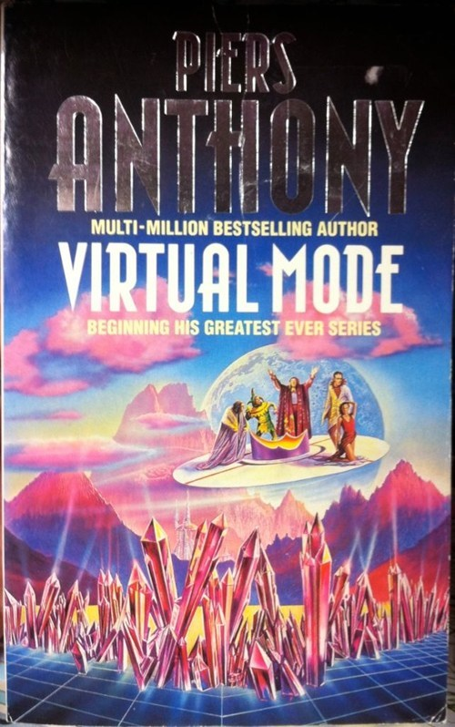 virtual,wtf,book covers,cover art,piers anthony,books,railing