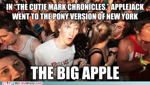 big apple,slowpoke,sudden clarity clarence