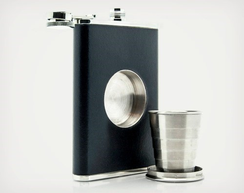 sloshed swag shot glass flask genius cool material - 6729611264
