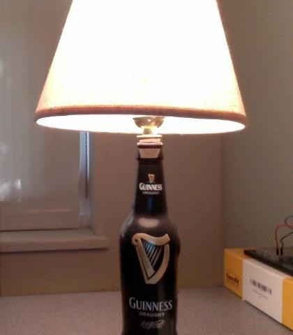 beer lamp awesome guinness funny - 6729620992