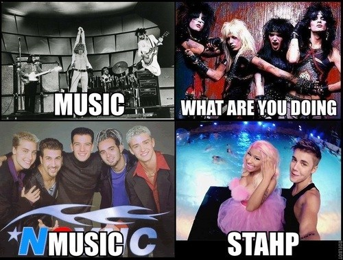 Music,stahp,the who,nsync,Motley Crue,nicki minaj