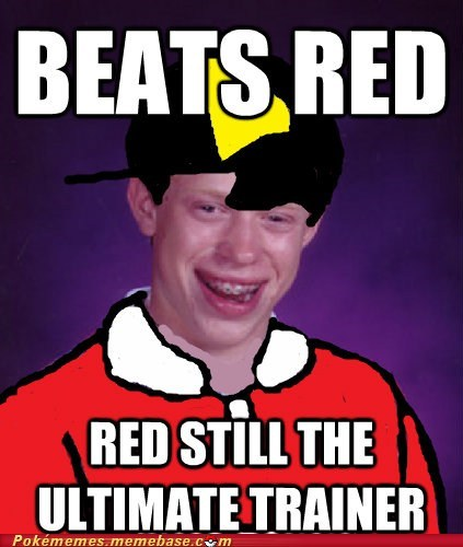 bad luck brian,gold,pokemon trainer
