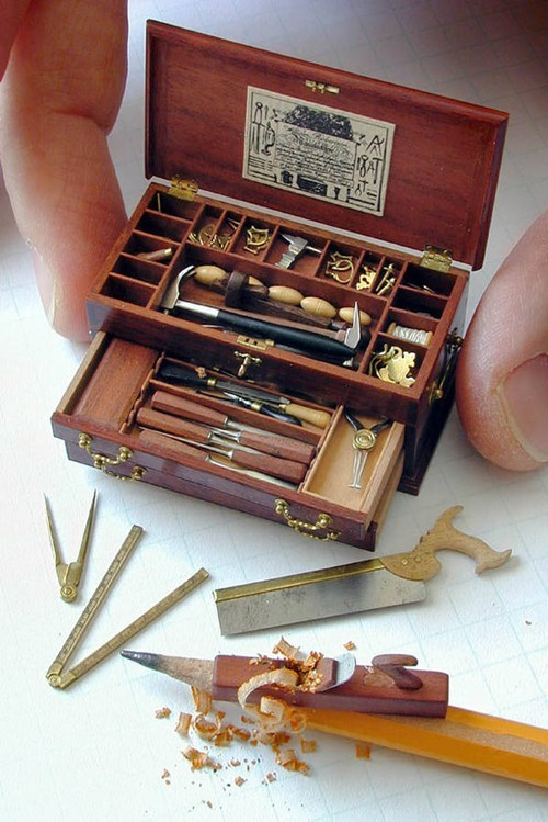 toolbox tools miniature - 6730006784