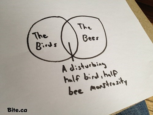 monstrosity,love story,venn diagram,the birds and the bees