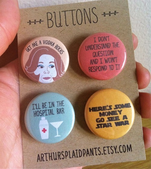quotes buttons TV lucille bluth arrested development