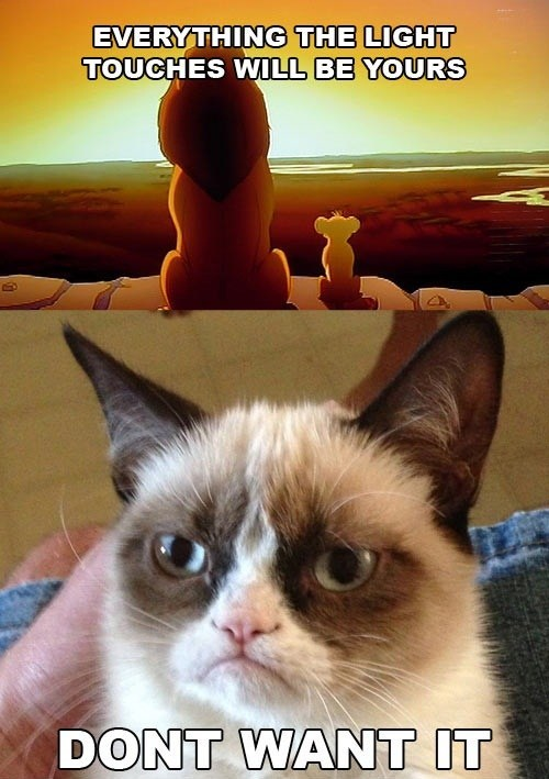 the lion king disney movies no Grumpy Cat tard multipanel Cats - 6730055424