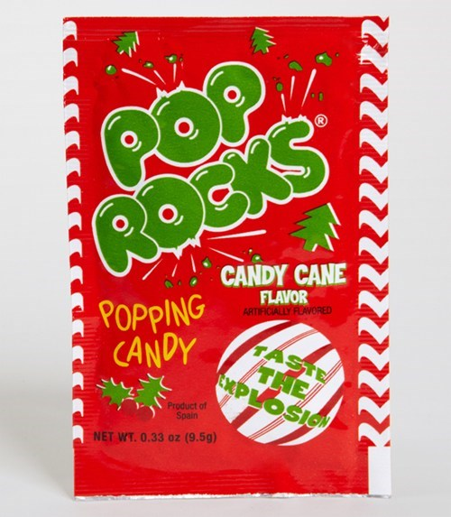 christmas pop rocks candy cane mint holiday flavor - 6730089984