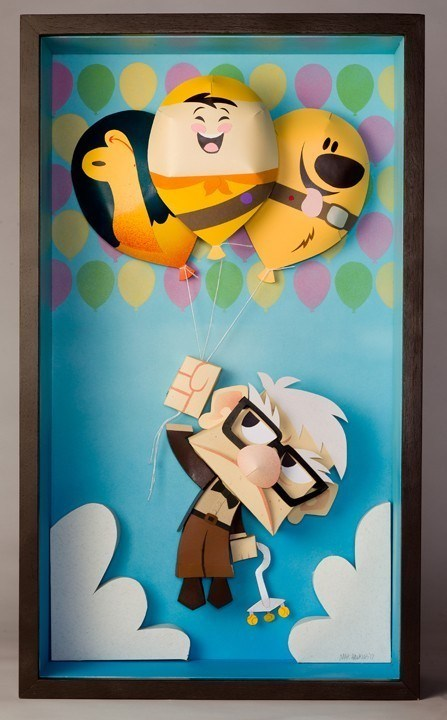 up! art Movie pixar papercraft - 6730100992
