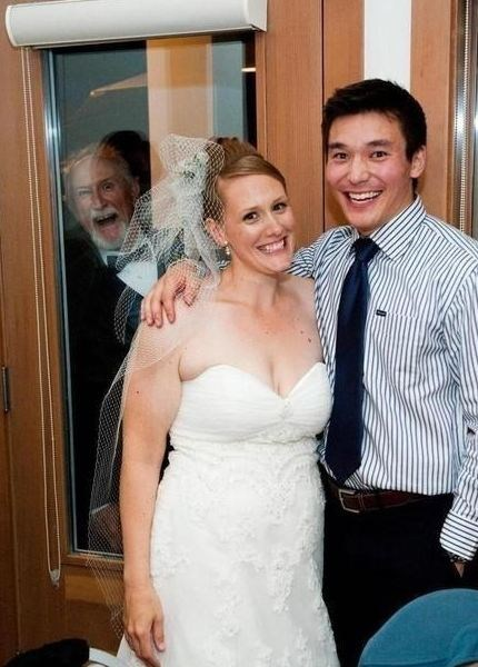photobomb,Grandpa,window