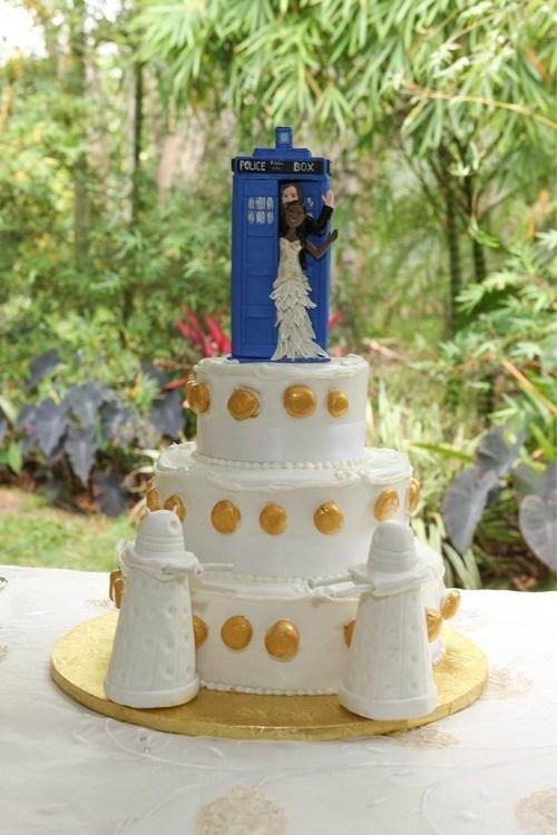 cake tardis daleks doctor who - 6730304256