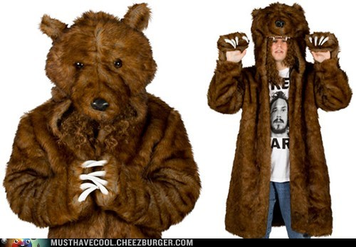 workaholics bear TV coat blake anderson - 6730466304