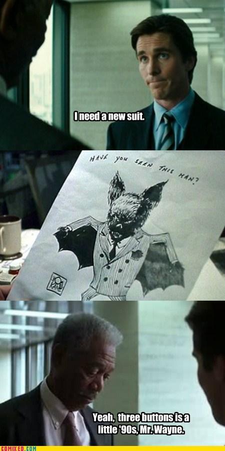 Movie the dark knight suit bat - 6730512384