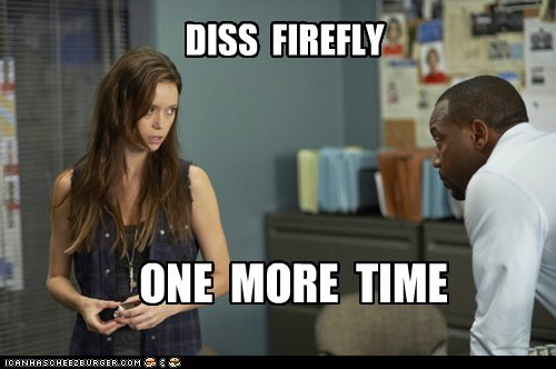 Alphas,Firefly,malik yoba,bill harken,One More Time,summer glau,Skylar Adams