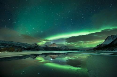 Norway,borealis,landscape,aurora