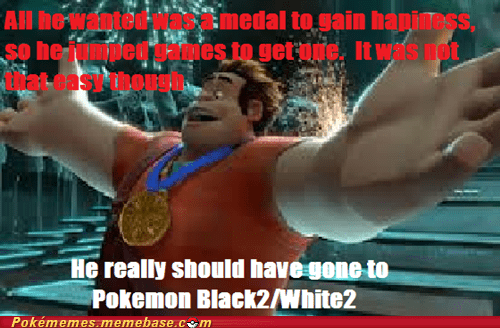 Pokémon,Movie,medals,wreck-it ralph