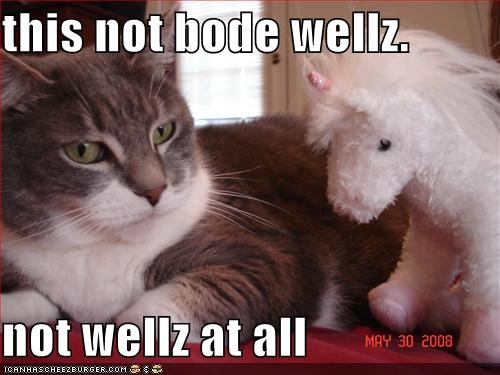 This Not Bode Wellz Not Wellz At All Cheezburger Funny Memes
