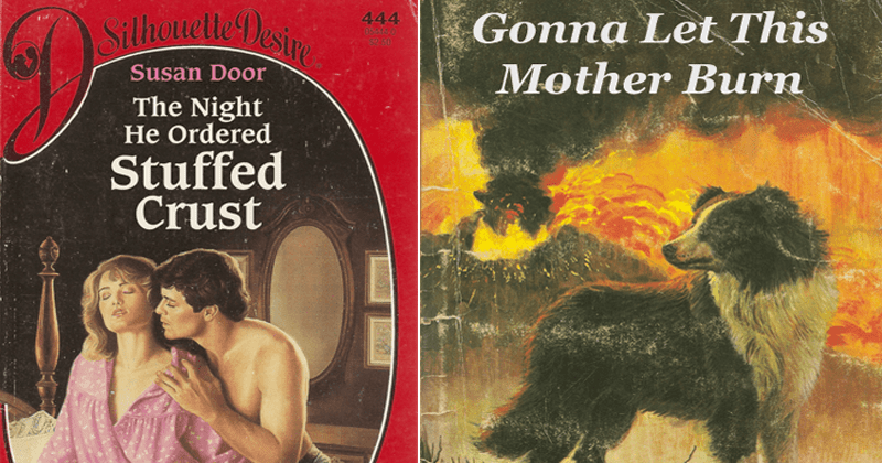 Funny pics from paperback paradise, photoshopped book covers, funny book covers.