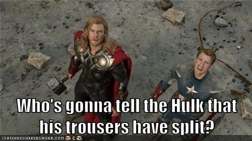 pants uh oh hulk avengers - 6731461120