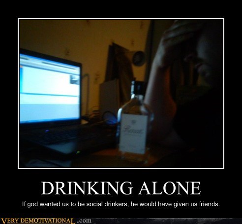 drinking,friends,social,alone