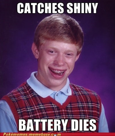 shiny,bad luck brian,meme