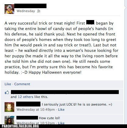 halloween trick or treat facebook - 6731766528