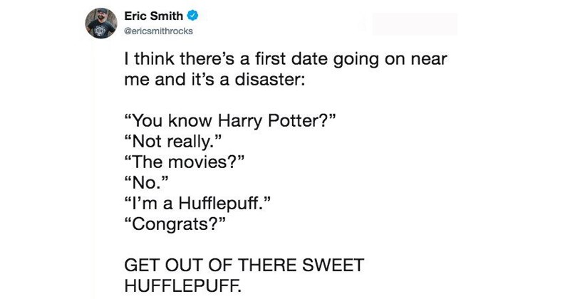 parody tweets Harry Potter parody trending memes know your meme funny tweets first dates funny twitter dating i think theres a first date going on near me Dragon Ball Z kirby sonic - 6731781
