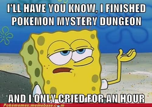 mystery dungeon SpongeBob SquarePants meme - 6732019968