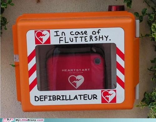 emergency,defibrillator,fluttershy