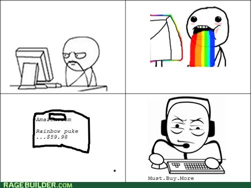 Rainbow Puke On Amazon?