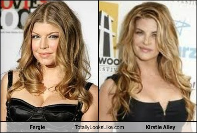 fergie,Music,actor,kirstie alley,TLL,celeb,funny