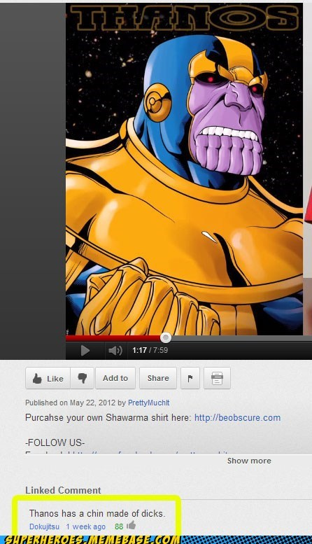 chin,wtf,thanos,no no tubes