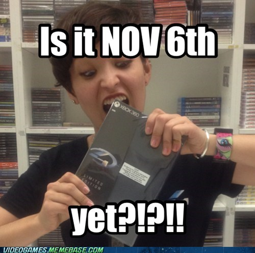 nov 6th gimme Halo 4 omg - 6733990400