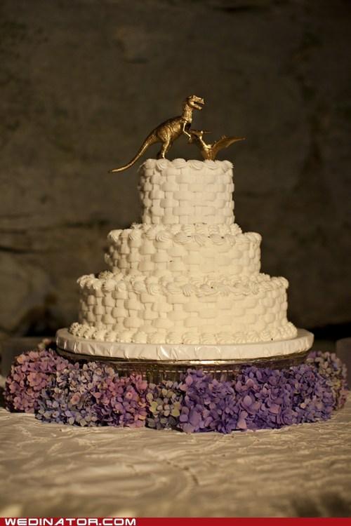 cake elegant topper gold dinosaurs - 6734025728
