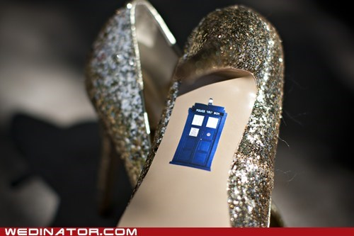 blue sticker tardis doctor who shoe