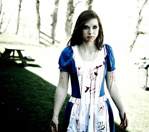 alice in wonderland,alice,cosplay,madness returns