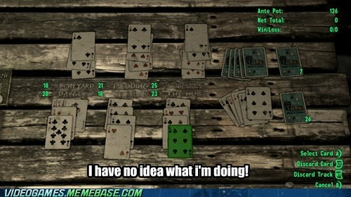 fallout card game what am I doing?