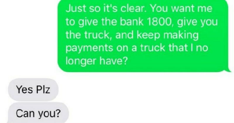 playstation text computer ridiculous truck cheap deals funny rude money selling iphone - 6735365